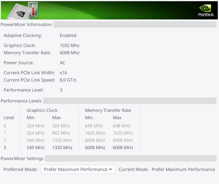 Fix NVIDIA X SERVER low perfomance